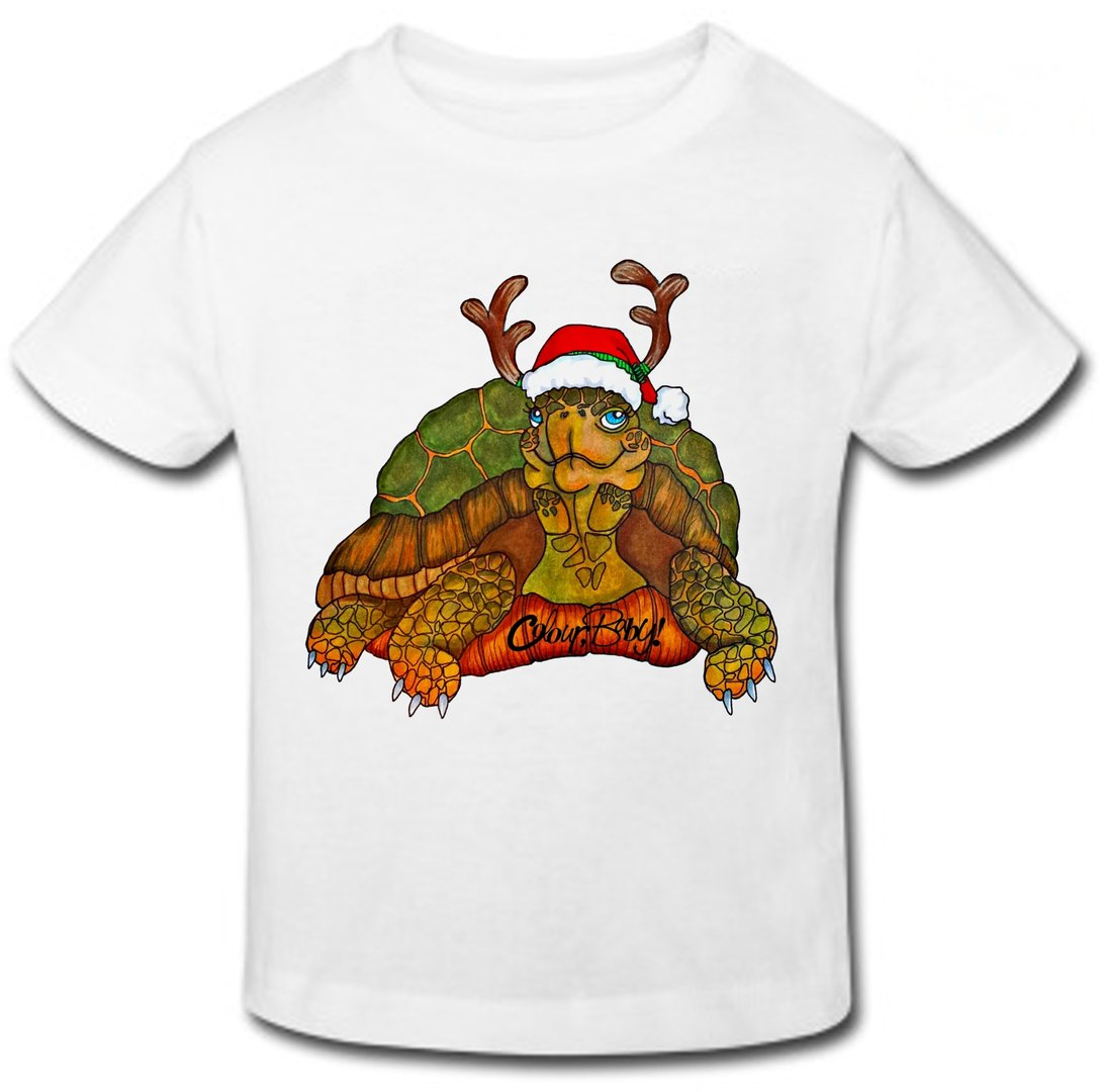 T-Shirt - Christmas Turtle